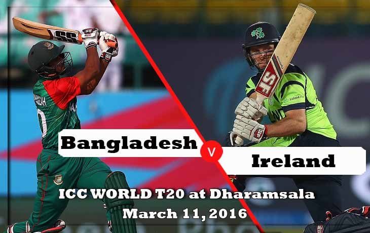 bangladesh vs ireland icc world cup 2016