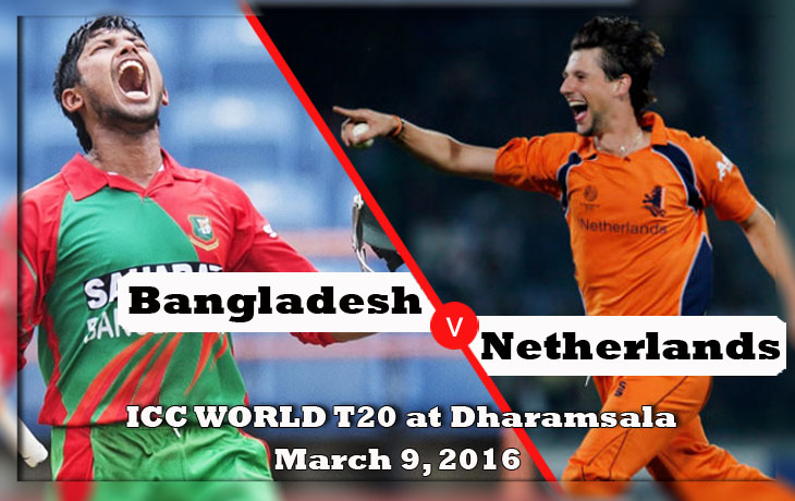 bangladesh vs netherlands icc worldcup t20 2016