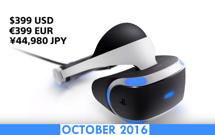 sony playstation vr price and release date