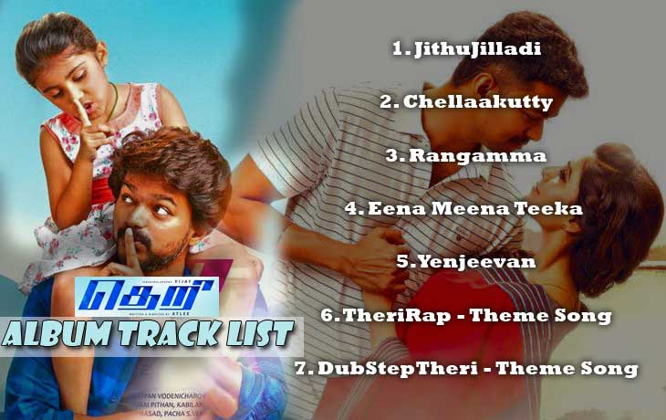 theri album track list