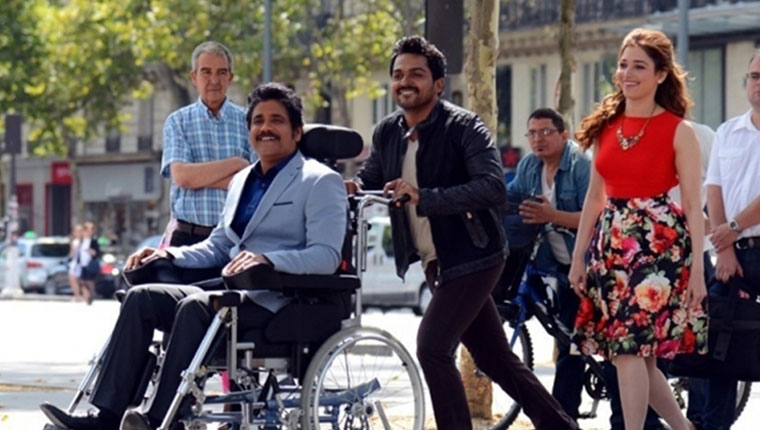 oopiri thozha movie review and box office collection