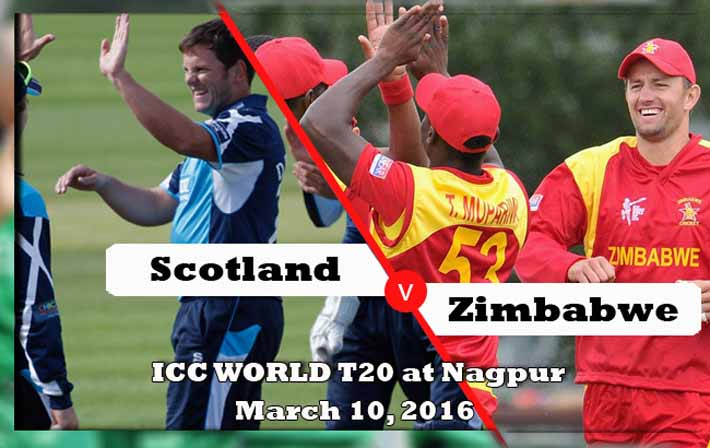 Scotland vs Zimbabwe