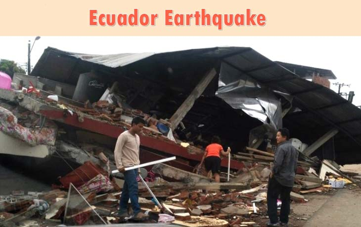 Ecuador Earthquake 2016