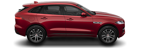 F-Pace Model Red