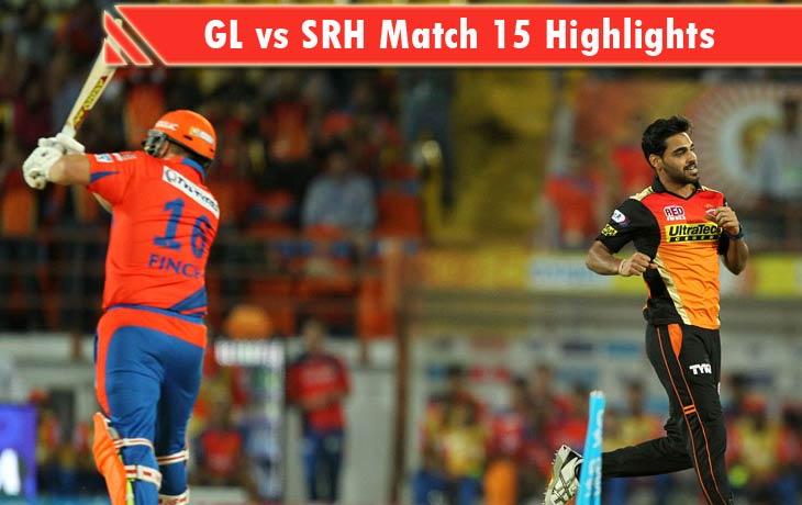 GL vs SRH Highlights
