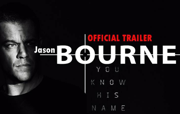 Jason Bourne Movie Trailer
