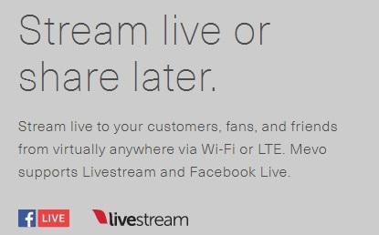 fb live first camera to stream live to facebook