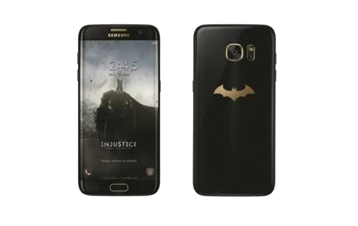 Batman-themed Samsung Galaxy S7 Edge