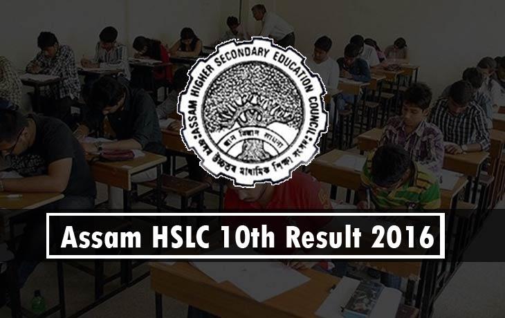 Check Assam HSLC 10th Result 2016