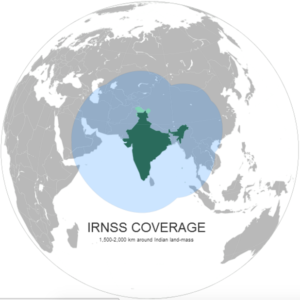 IRNSS Satellite Coverage