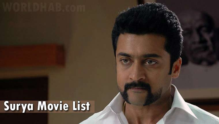 Surya movie list