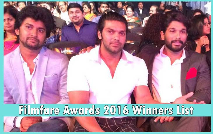 Filmfare-Awards-2016-Winners-List-south-allu-arjun-arya-nani