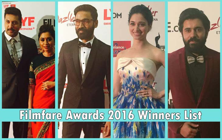 Filmfare Awards 2016 Winners List