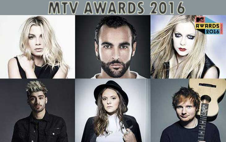 MTV awards star 2016
