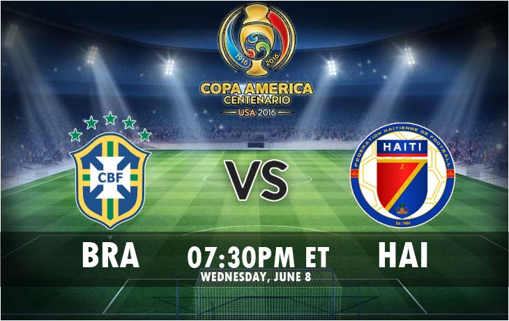 Brazil vs Haiti Live Streaming Match Final Score