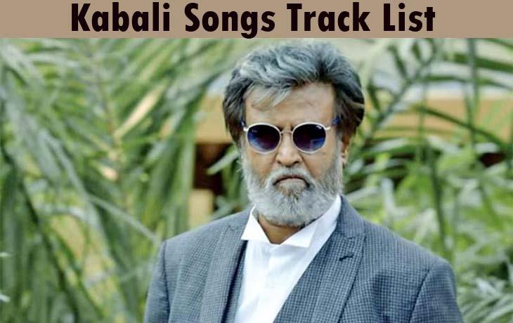 Kabali Songs Track List