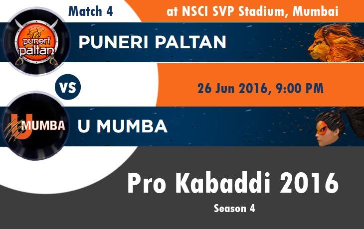 Puneri Paltan vs U Mumbai