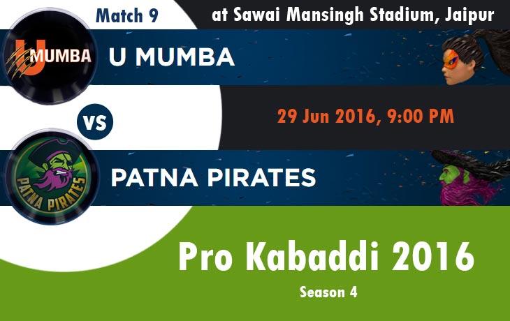 U Mumba vs Patna Pirates