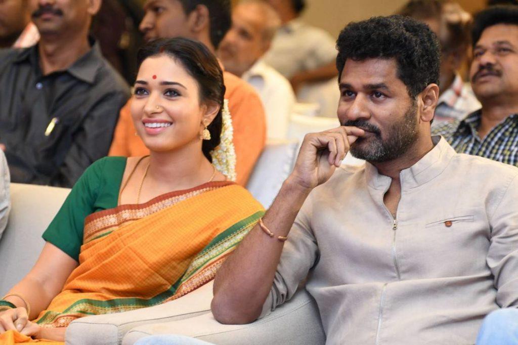 Abhinetri Movie Audio launch by Prabhudeva