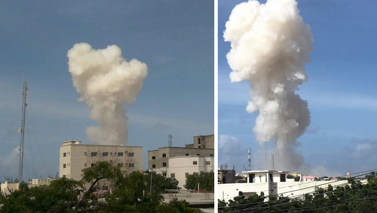 Explosions Near Mogadishu Airport