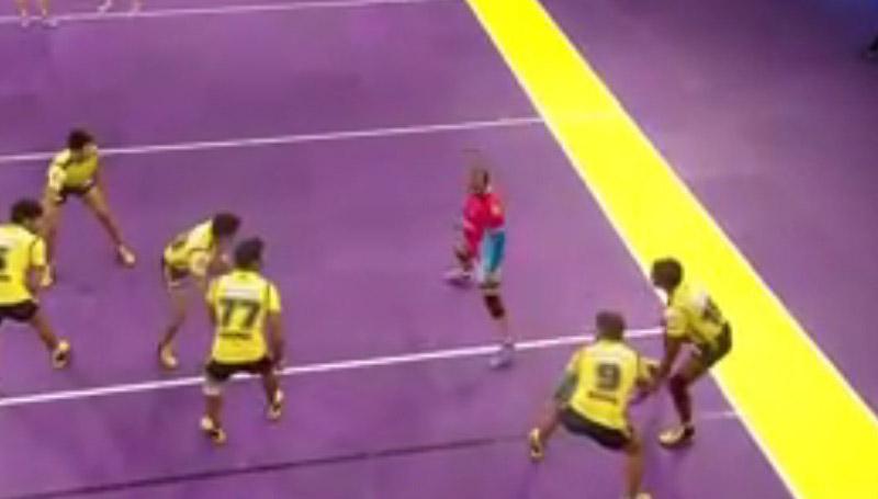 Jaipur Pink Panthers won the match Pro kabaddi Semifinal 2 Result
