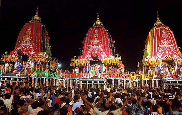 Puri Jagannath Ratha Yatra Festival 2016