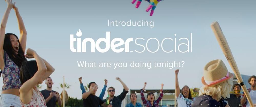 Tinder Social App Launch