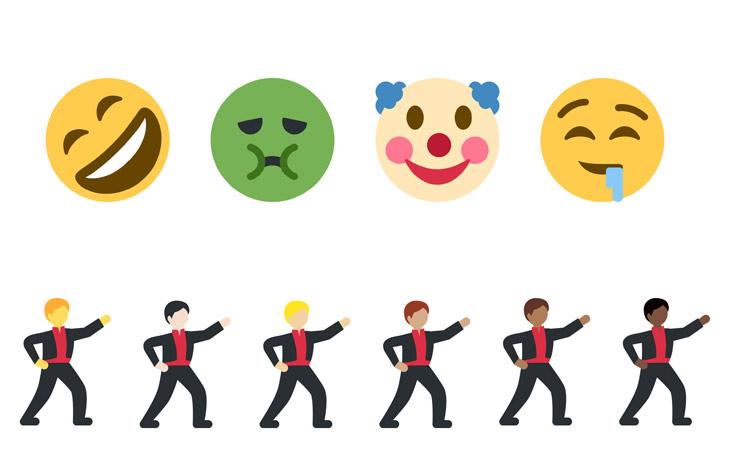 Twitter 72 New Emoji