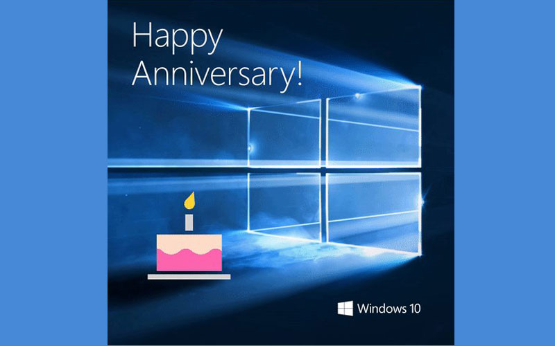 Windows 10 First Anniversary: Windows Insider Celebration