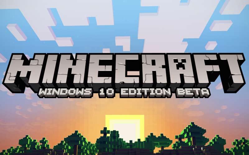 Windows 10 Minecraft celebrates First Anniversary
