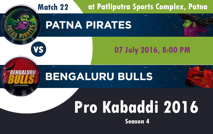 Patna Pirates vs Bengaluru Bulls