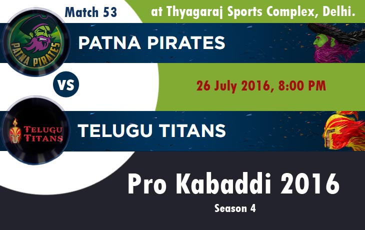 Patna Pirates vs Telugu Titans