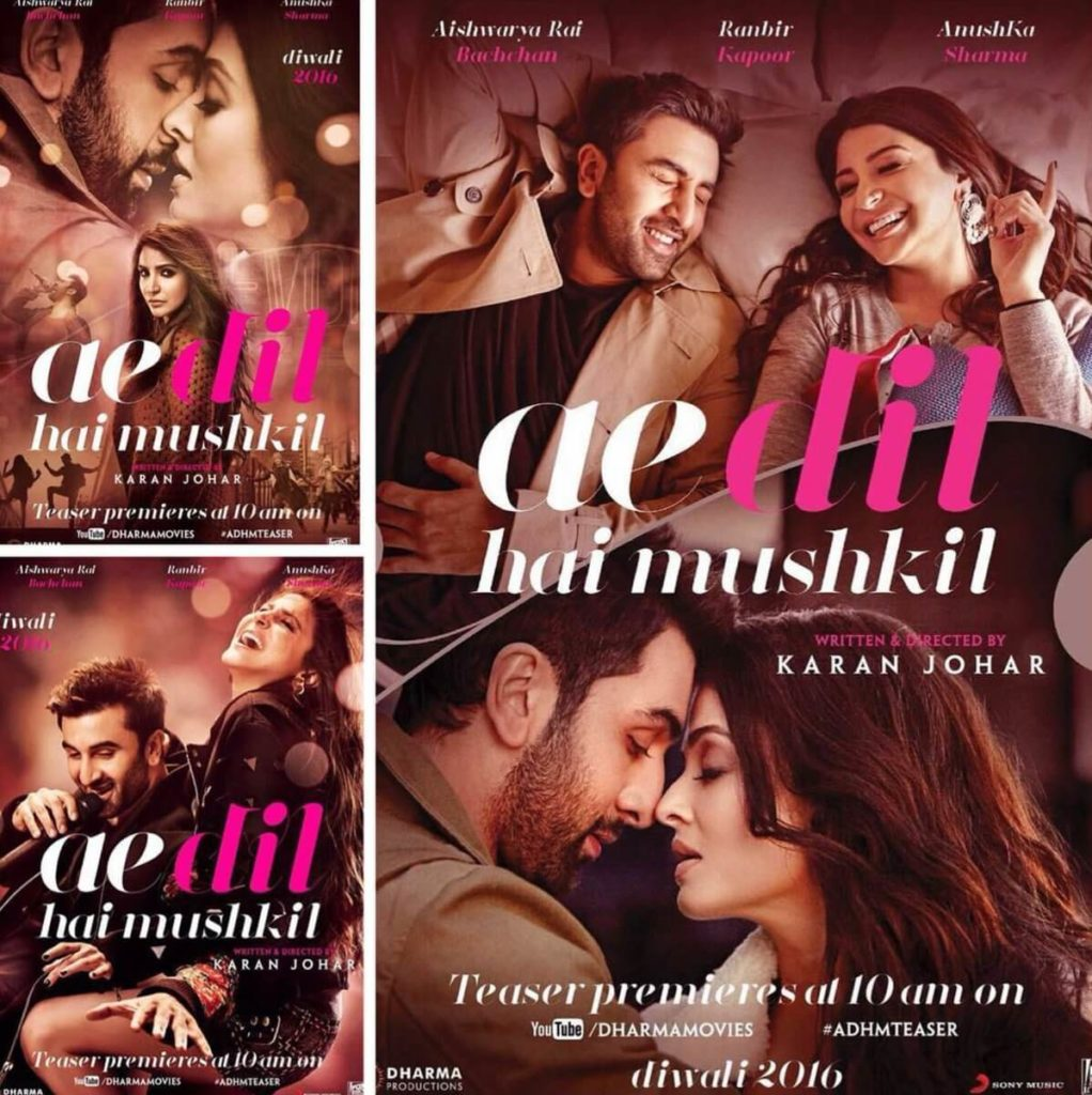 Ae Dil Hai Mushkil Teaser Trailer
