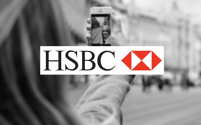 HSBC bank selfie verification