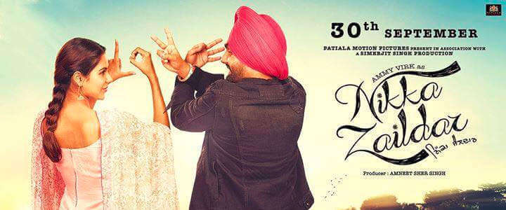 Nikka Zaildar Movie Review Poster