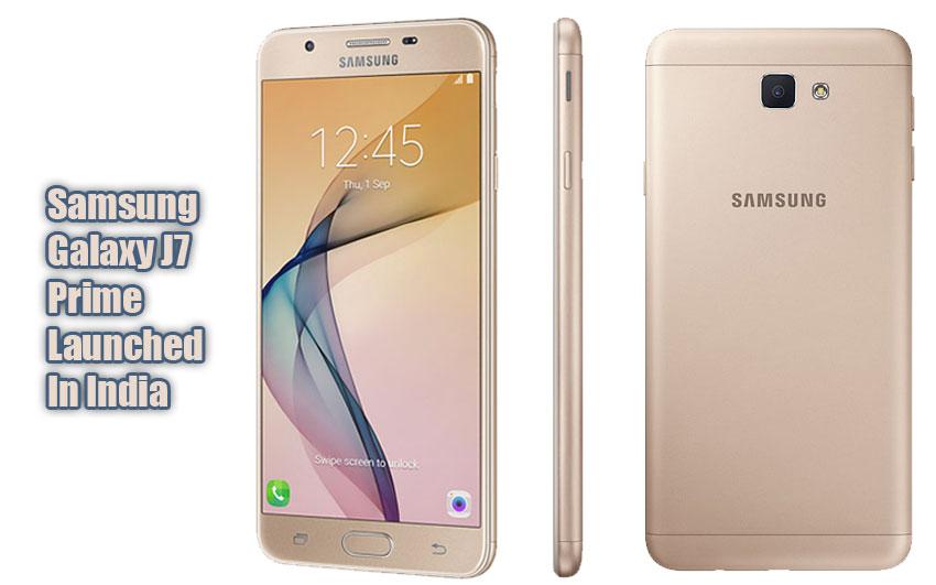 Samsung Galaxy J7 Prime specs