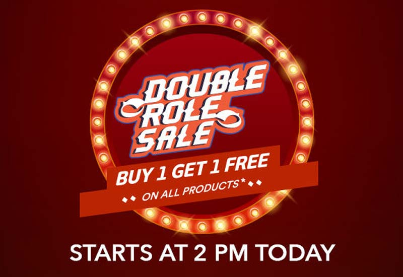 MrVoonik Double Role Sale BOGO Offer