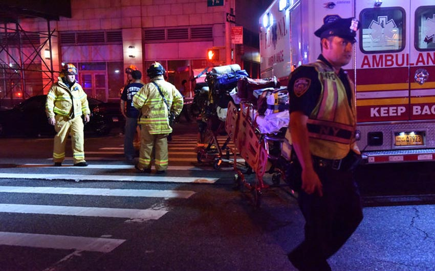 At Least 25 Injured in Manhattan Rock Explosion