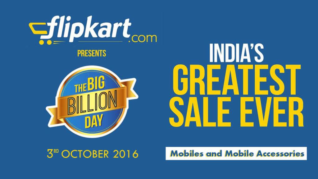Flipkart Big Billion Day 2016 Day 2 Deals: Electronics and Accessories