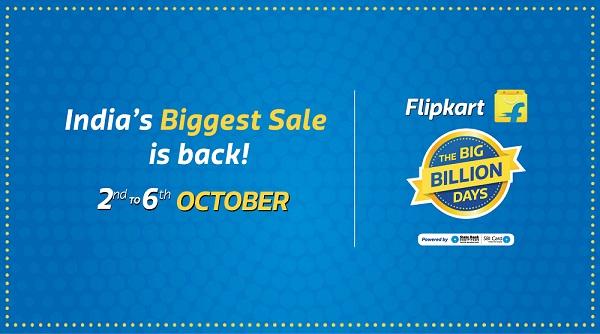 Flipkart Big Billion Day Sale everyday Deals and Offer
