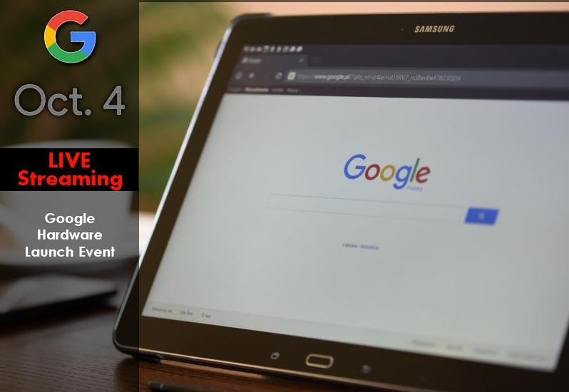 Google Hardware Launch Event