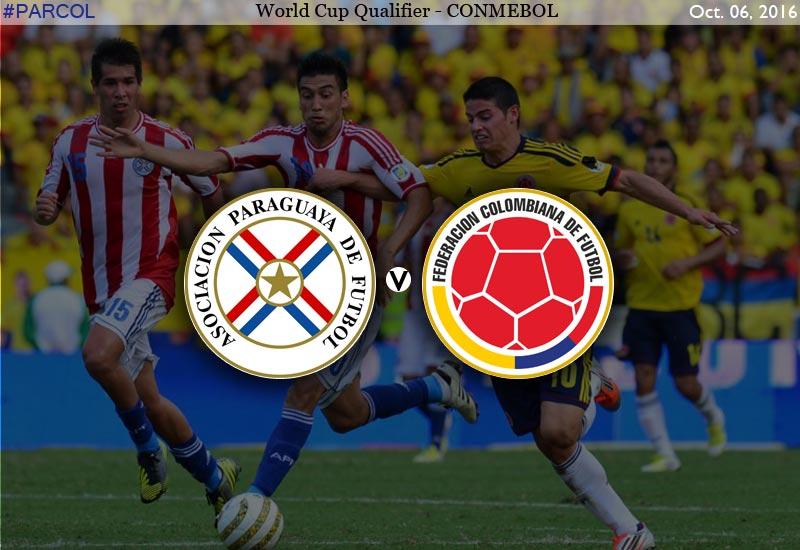 Parauay vs Coloumbia