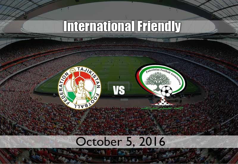 Tajikistan vs Palestine International Friendly