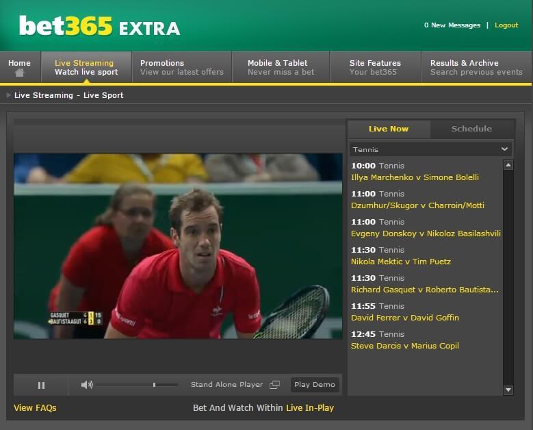Jo-Wilfried Tsonga v Alexander Zverev Live Streaming