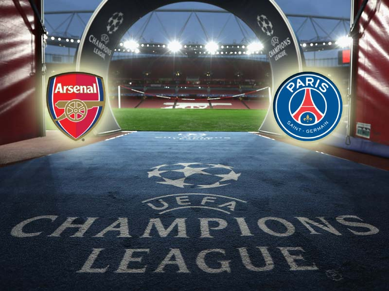 Arsenal vs PSG Live Streaming, Lineup & Final Score Champions League