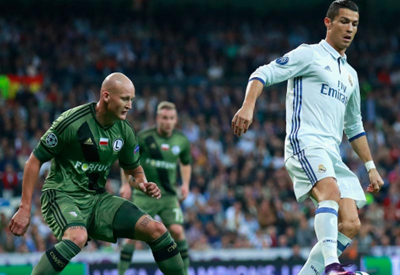 08 Legia Warsaw vs Real Madrid Live streaming Champion league