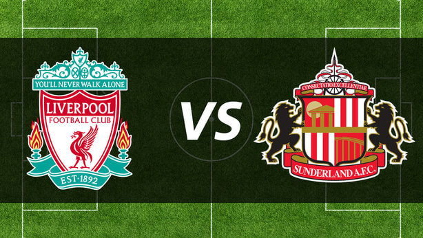 Liverpool vs. Sunderland Live Streaming
