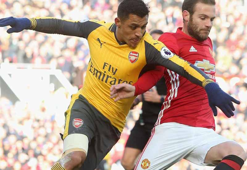 Manchester United vs Arsenal Final Score & Highlights Premier League 2016-17