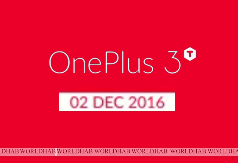 OnePlus 3T Release date in India