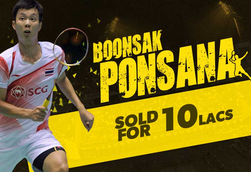 Premier Badminton League 2017 (PBL 2017) Six teams drafted Players List